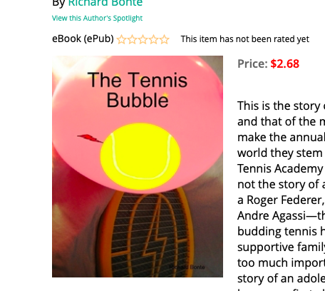 The Tennis Bubble